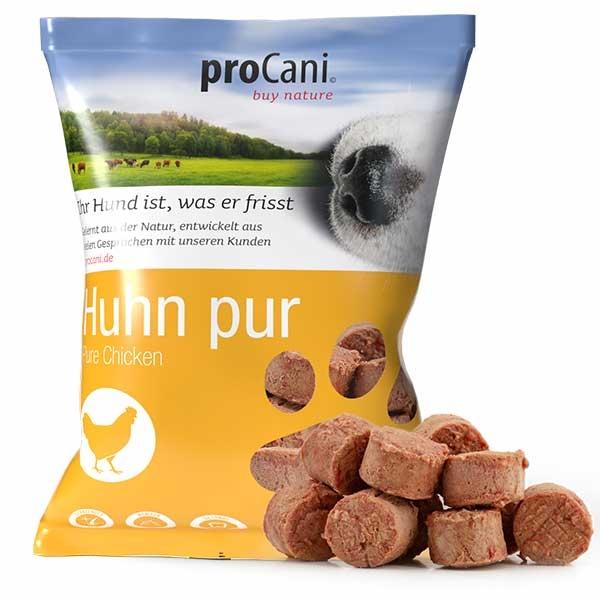proCani buy nature BARF Frostfleisch Nuggets für Hunde - Huhn pur