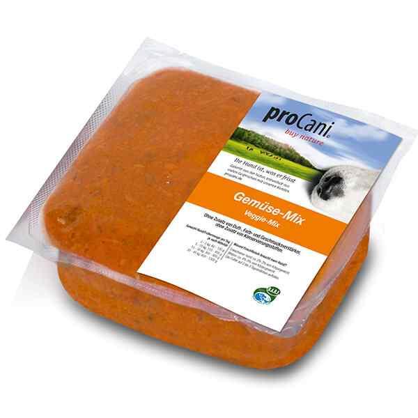 proCani Gemüse Mix für die BARF Fütterung von Hunden