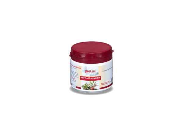 proCani BARF-Gemüsemischung in Pulverform - Fruit & vegtable für Hunde