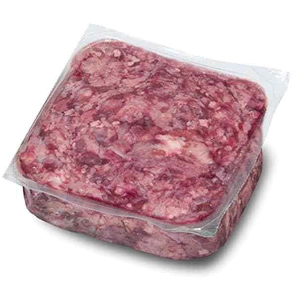 proCani buy nature BARF Rindfleisch in groben Stücken / Rindergulasch für Hunde